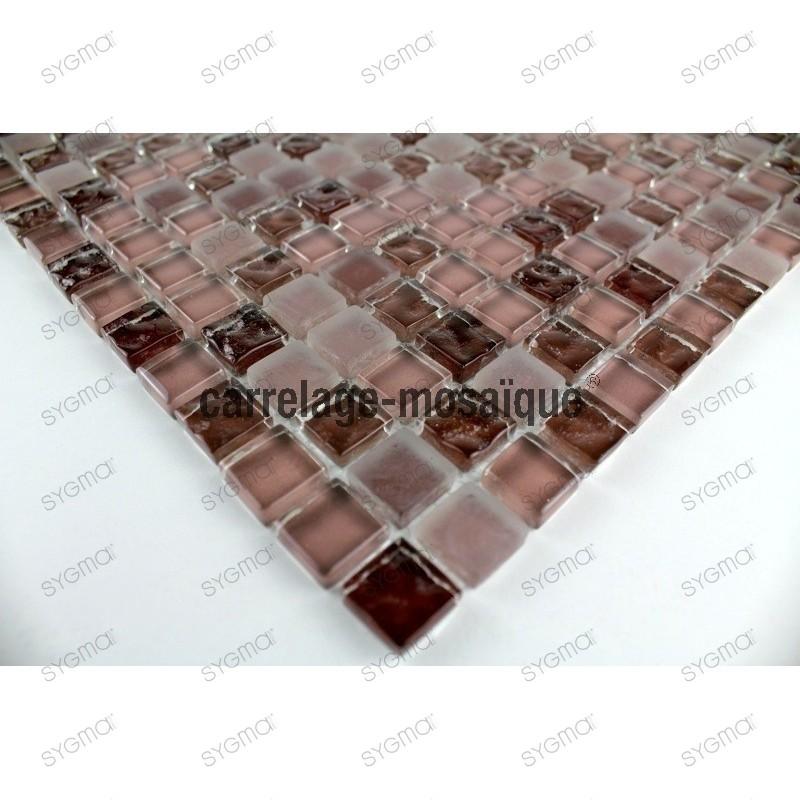 Suelo ducha en mosaico vidrio muestra