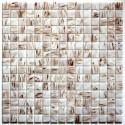Glass mosaic italian shower bathroom vitro blanc sample