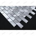 Splashback kitchen Aluminium mosaic sample