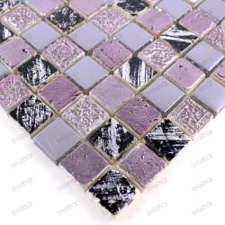 Mosaico de piedra en muestra para ducha o bano modelo Sofy
