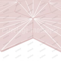 Carreaux ciment imitation carrelage decoration Fyler Rosa