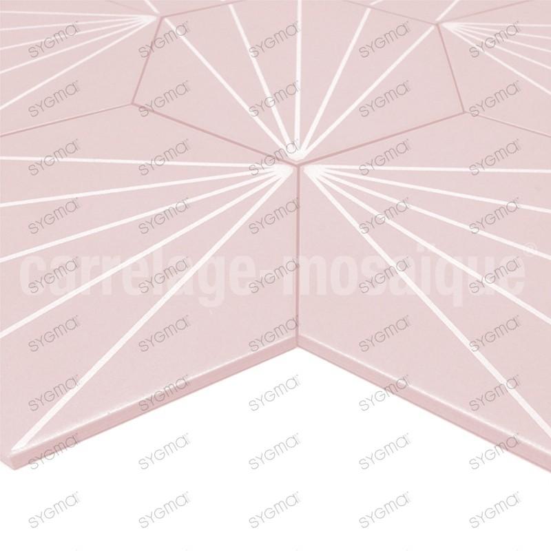 Cement tiles 1sqm patchwork Fyler Rosa
