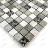 Stone mosaic shower bathroom sample Atena