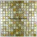 Glass mosaic sample for italian shower bathroom zenith dore