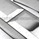 Mosaico en acero inoxydable modelo METRO MIROIR