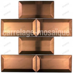 stainless steel splashback kitchen mosaic copper cm-metro