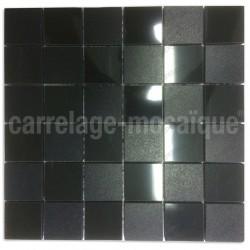 Mosaique pour douche salle de bain et cuisine  Carbone Reg48