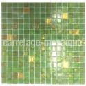 mosaico para ducha bano o cocina Goldline vert