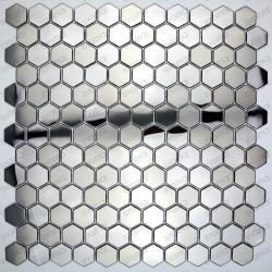 mosaico ducha acero muro y suelo cocina baño in-yuri