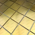 carrelage en inox modèle REGULAR48 GOLD