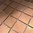 stainless steel tile copper color for kitchen backsplash reg48-cuivre