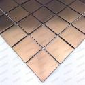 carrelage inox cuivre mur credence et fond de hotte reg48-cuivre