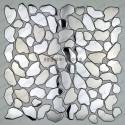 stainless steel pebble kitchen backsplash model SYRUS