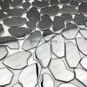 mosaico acero inoxidable cocina ducha syrus-mix