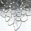 mosaico ducha acero cocina baño cm-galet brise