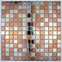 stainless steel mosaic tile model stretto