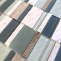baldosas malla mosaico azulejo piedra y cristal mvp-noka
