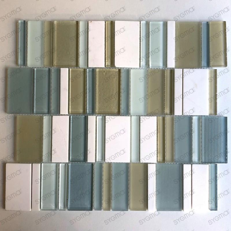 Azulejo mosaico Baño pared de cocina mvp-lule
