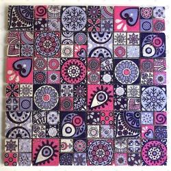 guijarros de mármol y baldosas mosaico mp-neferti
