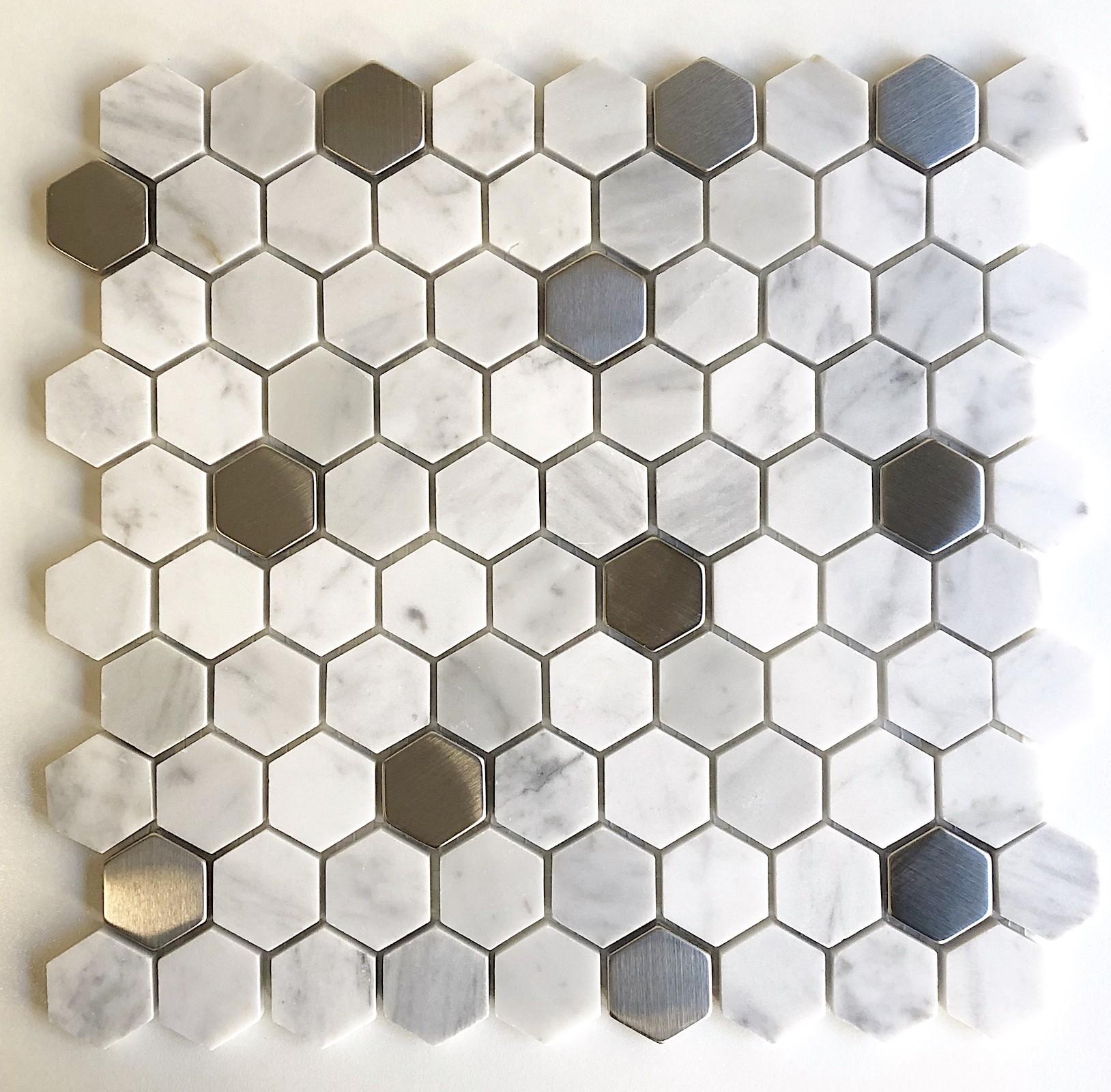Carrelage Salle De Bain Avec Mosaique faience hexagonnale cuisine carrelage salle de bain marbre