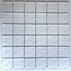 white glass tile mosaic kitchne and bathroom wall mv-oskar