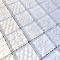 carrelage blanc en verre mur credence cuisine salle de bain mv-oskar