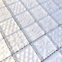 mosaico blanco azulejo para pared cocina y baño mv-oskar