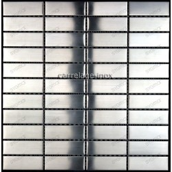 stainless steel backsplash kitchen mosaic shower cm-rectangular74