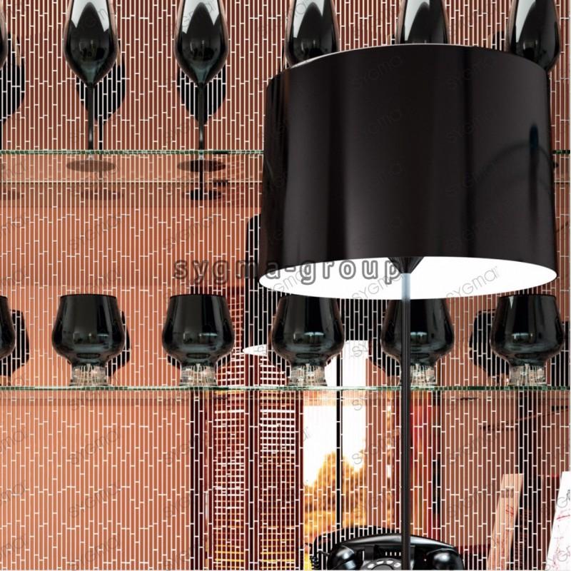 carrelage cuivre miroir en verre mur credence cuisine salle de bain mv-henrik-cuivre