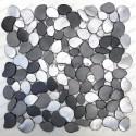 mosaico aluminio muro y suelo ducha baño OCEO