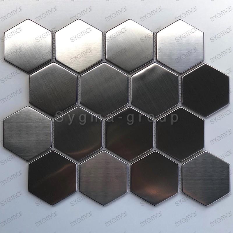 stainless steel mosaic tile model Kiel