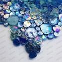 mosaique galets en verre pour sol ou mur douche et salle de bains Kashan