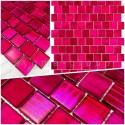Muestra malla azulejo mosaico vidrio drio rose