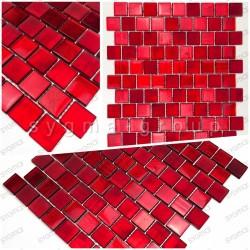 Muestra azulejo mosaico bano y cocina drio rouge