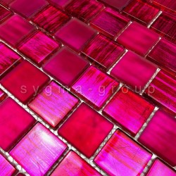 carrelage mur de cuisine et mosaique salle de bains 1m drio rose