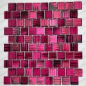 Wall glass tiles for kitchen back splash and bathroom 1m drio violet
