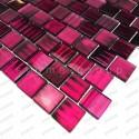 Mosaique sol de douche cuisine ou hammam Drio violet