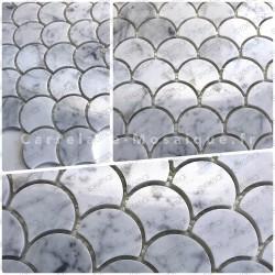 Mosaico de piedra en muestra para cuarto de bano TIMPA