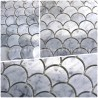 Echantillon Mosaique douche italienne salle de bain et cuisine TIMPA