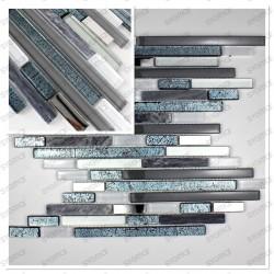 muestra mosaico vidrio muro suelo de ducha modelo Vibe