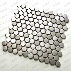 Mosaico en acero inoxydable cocina baño BERKO