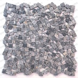 Stone mosaic marble tile model SULTAN GRIS