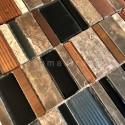 Mosaique murale de salle de bains ou cuisine JAELL