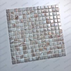 carrelage douche piscine salle de bain Vitro blanc