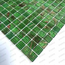 Mosaico pasta de vidrio azulejo pasta de vidrio 1 placa modelo Speculo Vert