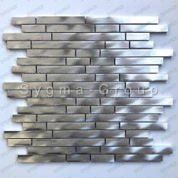 azulejos metálicos de aluminio para la cocina Zelki