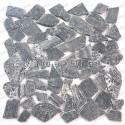 Malla mosaico de mármol y baldosas mosaico Oria Gris