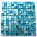 Mosaic for shower and bathroom kitchen tiles Arezo Turquoise