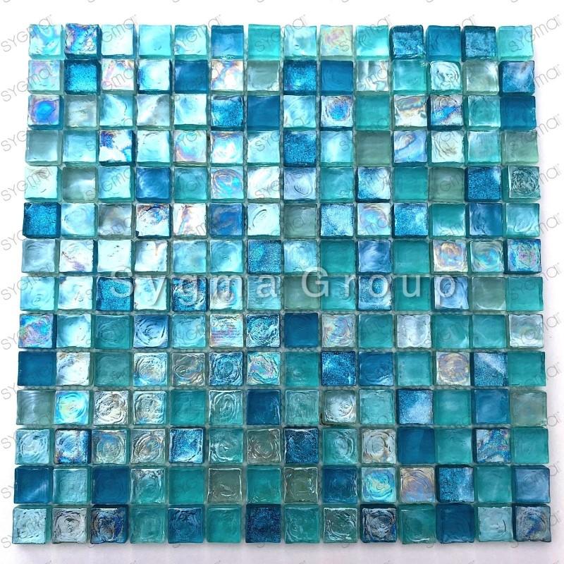 Mosaico para la ducha y el baño azulejos de la cocina Arezo Turquoise