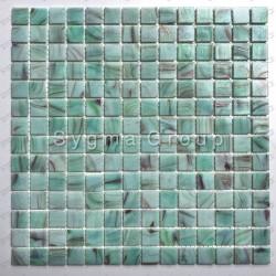 mosaique sol et mur en pate de verre Speculo Celadon